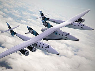 Virgin Galactic Tourist Spaceship